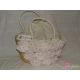 Borsa in paglia con rose - LALU' Fashion style