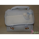Beauty-case azzurro - FILET